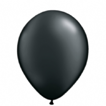 "Qualatex 11 inch Balloons - Pearl Black 11"" Balloons (Radiant 25pcs)"